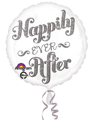 Folieballong - Happily ever after