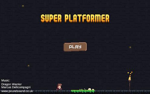 Super Platformer - náhled