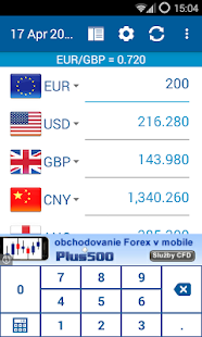 Currency converter - screenshot thumbnail