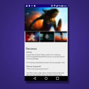 browser for movie (TMDb) - náhled