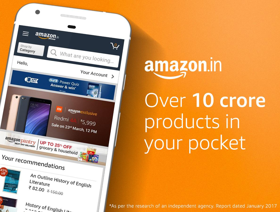 Amazon india online shopping