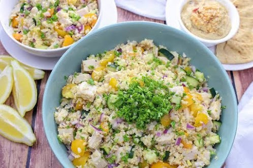 Bulgur Salad With Lemon-Cumin Dressing