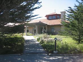 Photo: Hopkins Marine Station: outside the library