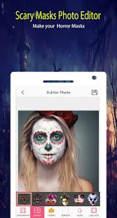 scary masks Photo Editor - náhled
