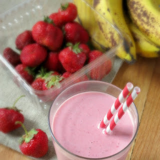 Strawberry Banana Smoothie.