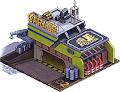 作業車ガレージ