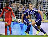 Un Anderlecht bien pâle a dû attendre les dernières secondes pour battre Lokeren