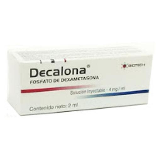 Dexametasona Decalona 4mg x2mL Biotech