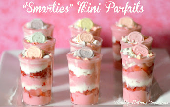 Photo: I ended up going back to Walmart on another day to buy yogurt and whipped cream. I made these cute parfaits!