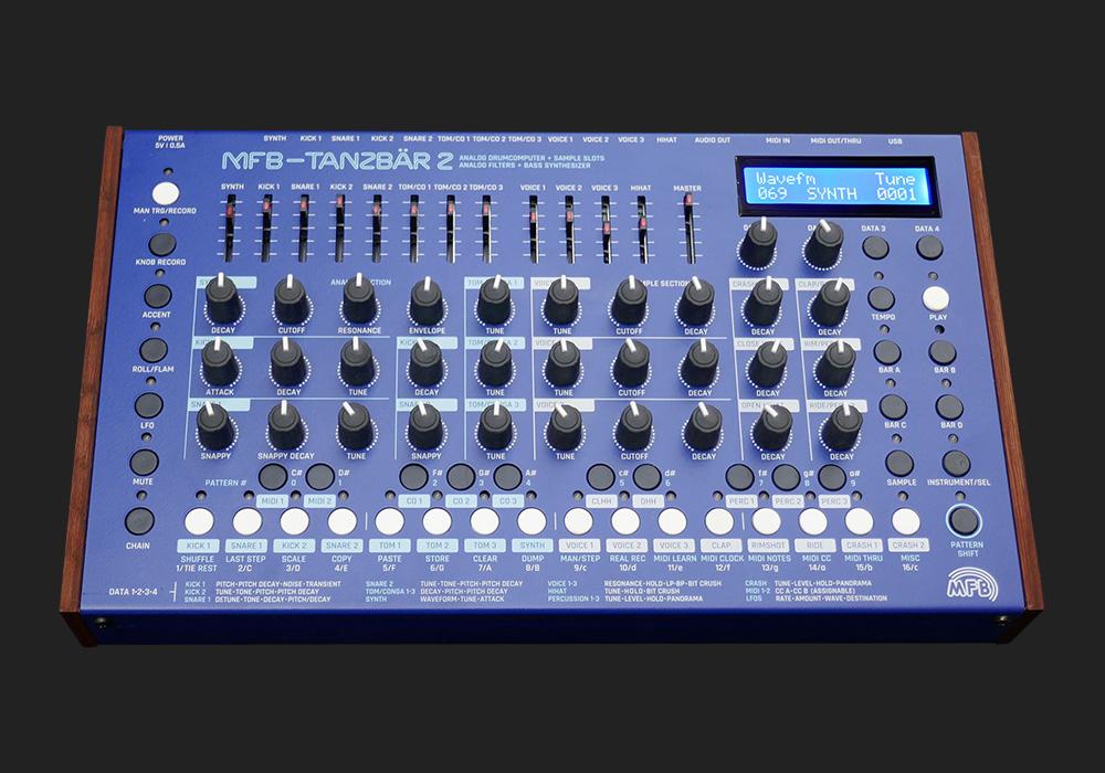 MFB Tanzbar 2  ten of the best drum machines