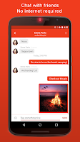 Screenshot of FireChat