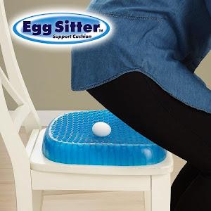 Perna Egg Sitter cu memorie gel pentru scaun