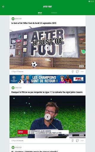 RMC Sport News screenshot 13