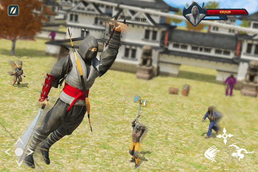 Super Ninja Kungfu Knight Samurai Shadow Battle  screenshots 15