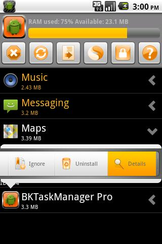 BKTaskManager  screenshot 2