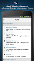 Screenshot of WELT News
