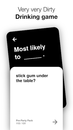 Most Likely To: Drinking Game 1.3.0 screenshots 1