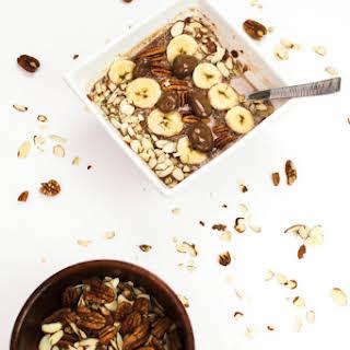 Chocolate Quinoa Breakfast Bowl.