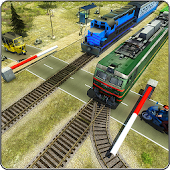 Indian Train Racing Simulator Pro