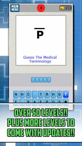 Medical Terminology Word Game