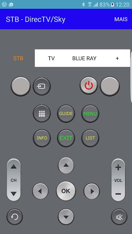 Remote Control for Sky/Directv APK 5 4 6 Download - Free Tools APK