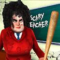 Scary Teacher Creepy Games: 3D Evil Teacher House icon