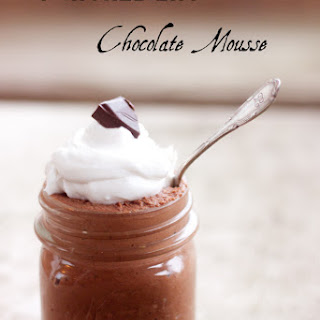 Dairy Free, Four Ingredient Chocolate Mousse