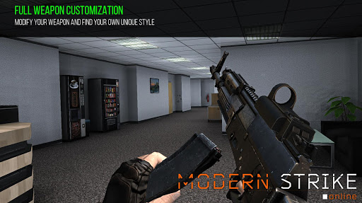 Modern Strike Online - FPS Shooting games free screenshot 17