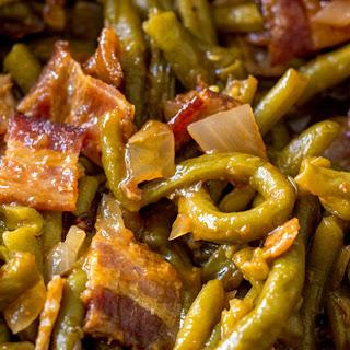 Slow Cooker BBQ Green Beans.