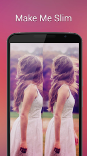 Slimming picture editor