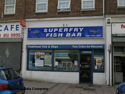 premium selection 854a7 4e44d Superfry Fish Bar on Beaconsfield Parade - Fish & Chip Shops ...