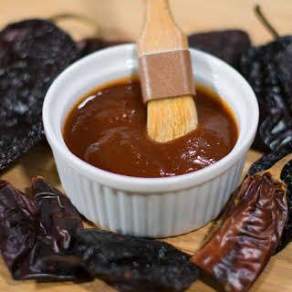 Ancho Chili and Honey BBQ Sauce.