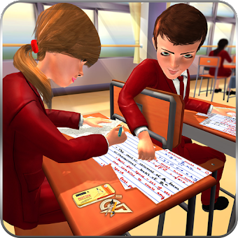 High School Cheating Boy Cheater Bob School Games