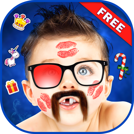 Funny Photo Editor - Add Funny Stickers to Photos