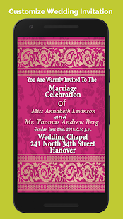 Wedding invitation cards maker apps on google play screenshot image stopboris Gallery