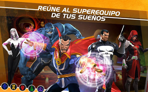 MARVEL Batalla de Superhéroes para Android