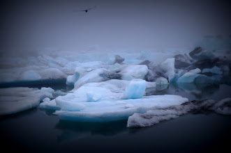 Photo: Góry lodowe w Jökulsárlón