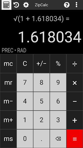 ZipCalc Calculator