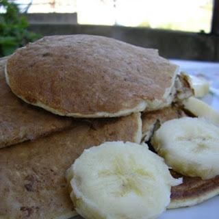 Healthy Oatmeal Pancakes.
