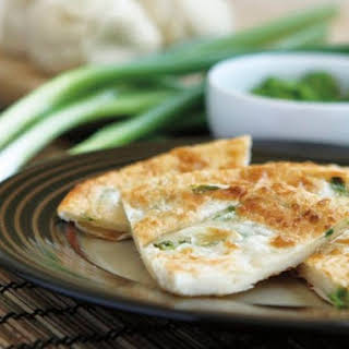Scallion Pancakes from 'The Chinese Takeout Cookbook'.