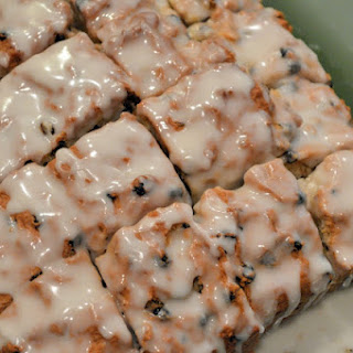 Irish Fruit Bread with Whiskey Glaze