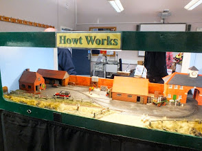 Photo: 023 The original module at Watt Estate, the also imaginatively named Howt Works, where His Lordship appears to be visiting today having come down from the big house in his Rolls Royce Phantom 1 .