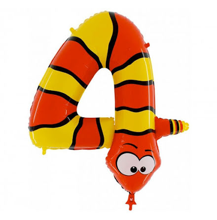 Animaloons sifferballong - 4