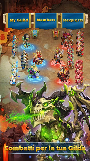 Castle Clash: Gilda Reale filehippodl screenshot 5