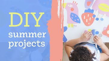 Summer DIY Projects - YouTube Thumbnail template
