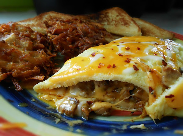 Recycled Omelet Recipe