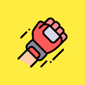 Fight Time! MMA Boxing Muay Thai Kickboxing timer icon