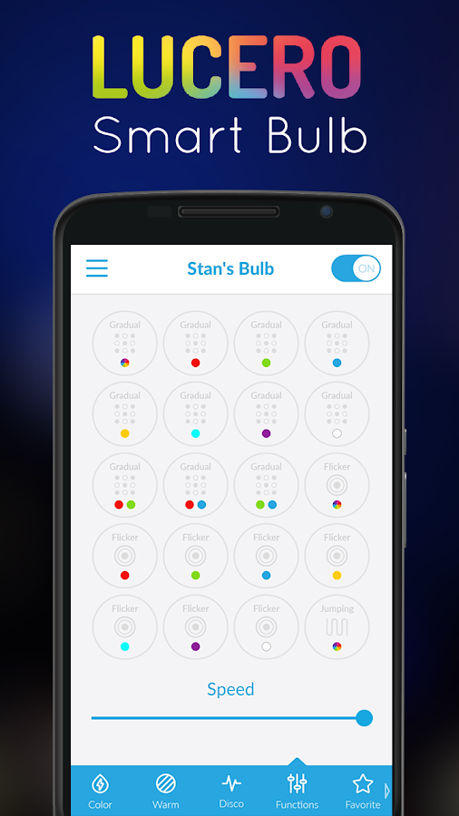 Smart Lucero Bulb- screenshot