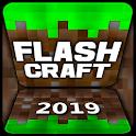 Flash Craft: Sandbox Adventures Building Explore icon