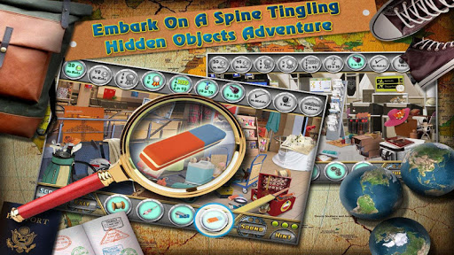 At The Airport - Hidden Object